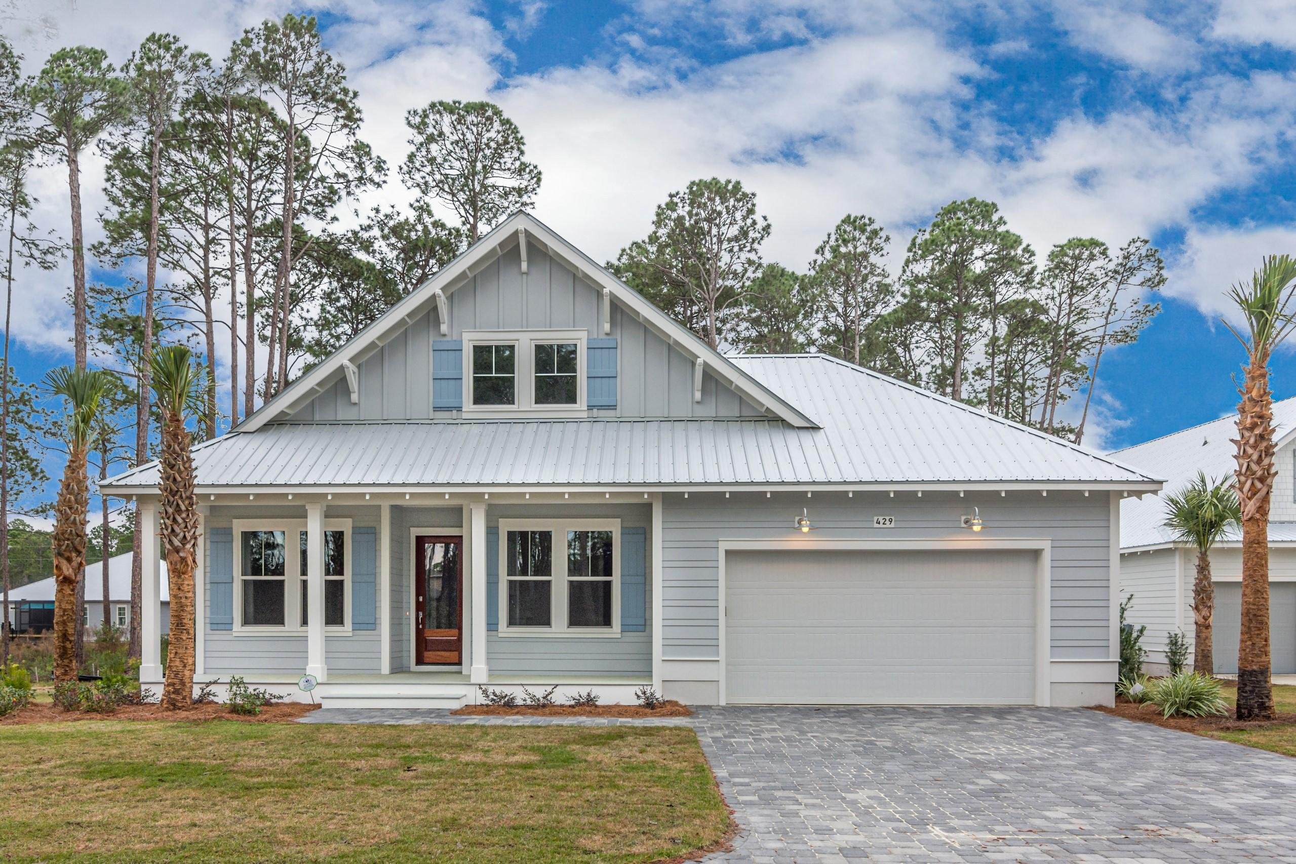 NEW CONSTRUCTION in Dune Allen Beach located on Hillcrest Drive! HILLCREST COTTAGES offers well appointed two-story homes designed with spacious, ground floor living in mind. It's rare to find homes that provide this much living space on the first level.  The main level offers covered front porch, an open living area - kitchen, walk-in pantry, dining area, with the living room opening to a large covered rear porch. The master offers a spacious master bath with a large walk-in closet. The ground floor has two additional bedrooms, along with a mudroom, laundry room and attached two-car garage. The second level has an additional bedroom/bonus room, full bath and large storage closet. Quality Finishes - Wonderful Location.
