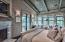 Top floor Master bedroom with vaulted ceilings.
