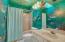 Aquarium Bathroom with Skylight