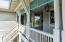 2nd Floor Porch - with Breezeway and Entry to the Attached Carriage House