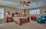 Large upstairs master suite with large walk in closet that you love!