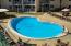 Gulffront pool - easy access to the beach too.