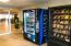 Vending machines for a quick snack on the way to the pool. (Lobby level).