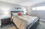 Very nice size of MBedroom with this very comfy king size bed.