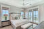 Second master suite on the third level also boasts gulf views from every window.