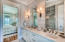 Elegant spa bath off from master suite