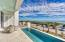 Large pool over looking the sugar sand beaches and the gulf. Also notice the outdoor bathroom with louvered doors.