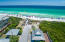 The Gulfview Heights beach access is just across 30A and a great public access with washrooms.