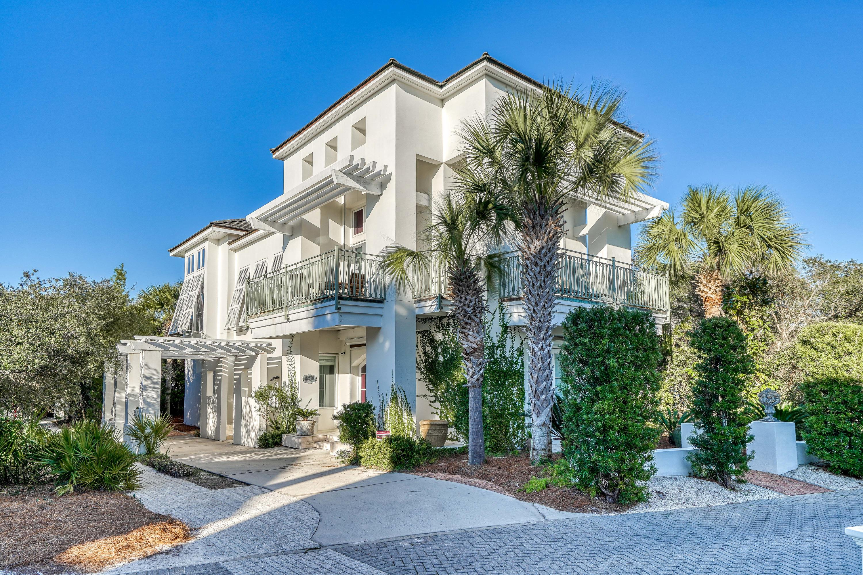 A 'PRIVATE OASIS' in the HEART of SEAGROVE!! LUXURY at it's finest, the GATED & WALLED community is