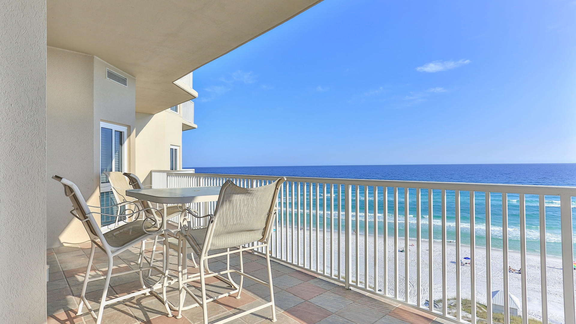 This beautifully furnished, quiet, Gulf front, 2675 sq. foot condo in the Sandestin area is the idea