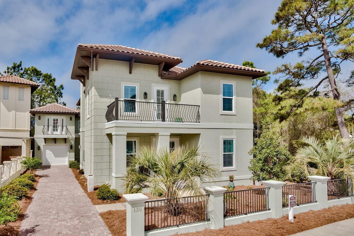 Located just south of 30A in coveted Blue Mountain is this meticulously-maintained fairly new home.