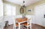 Quaint Dining/Eat In Kitchen Area