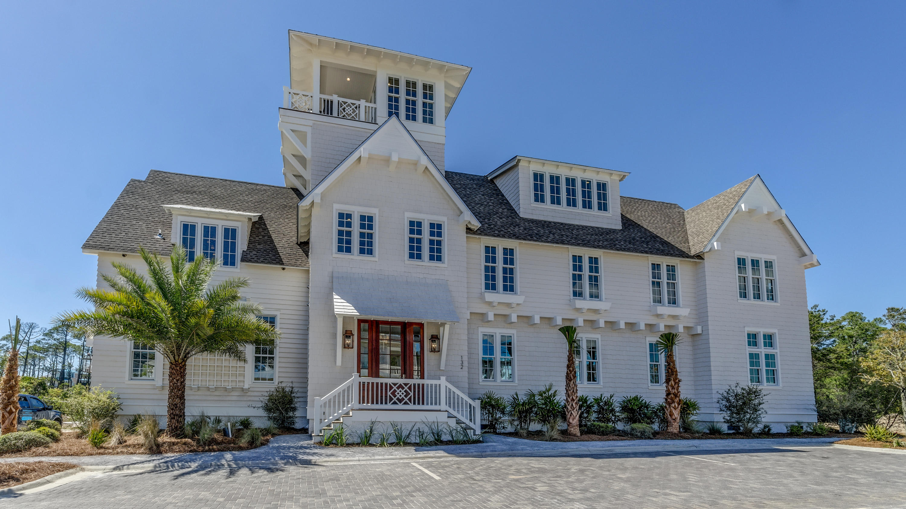 Enjoy the spectacular Gulf views from this 5 bedroom, 5.5 bath iconic Grace Point estate. This exemp