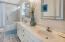 Master bath en suite with a double vanity.
