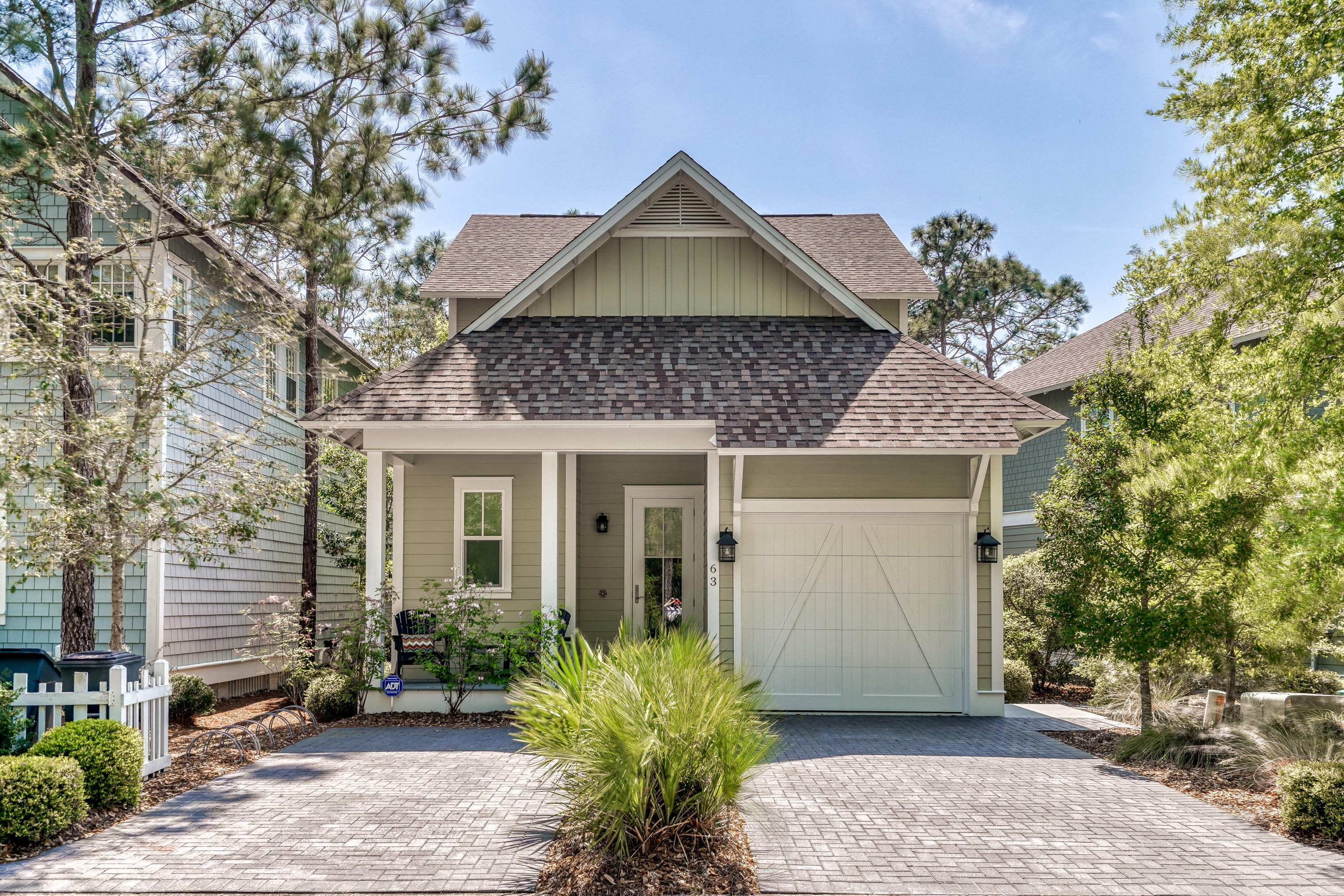 One owner and never rented home located south of 30A in the gated community of WaterSound West Beach