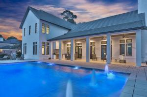 Featuring a 20x40 saltwater pool with fountain feature.