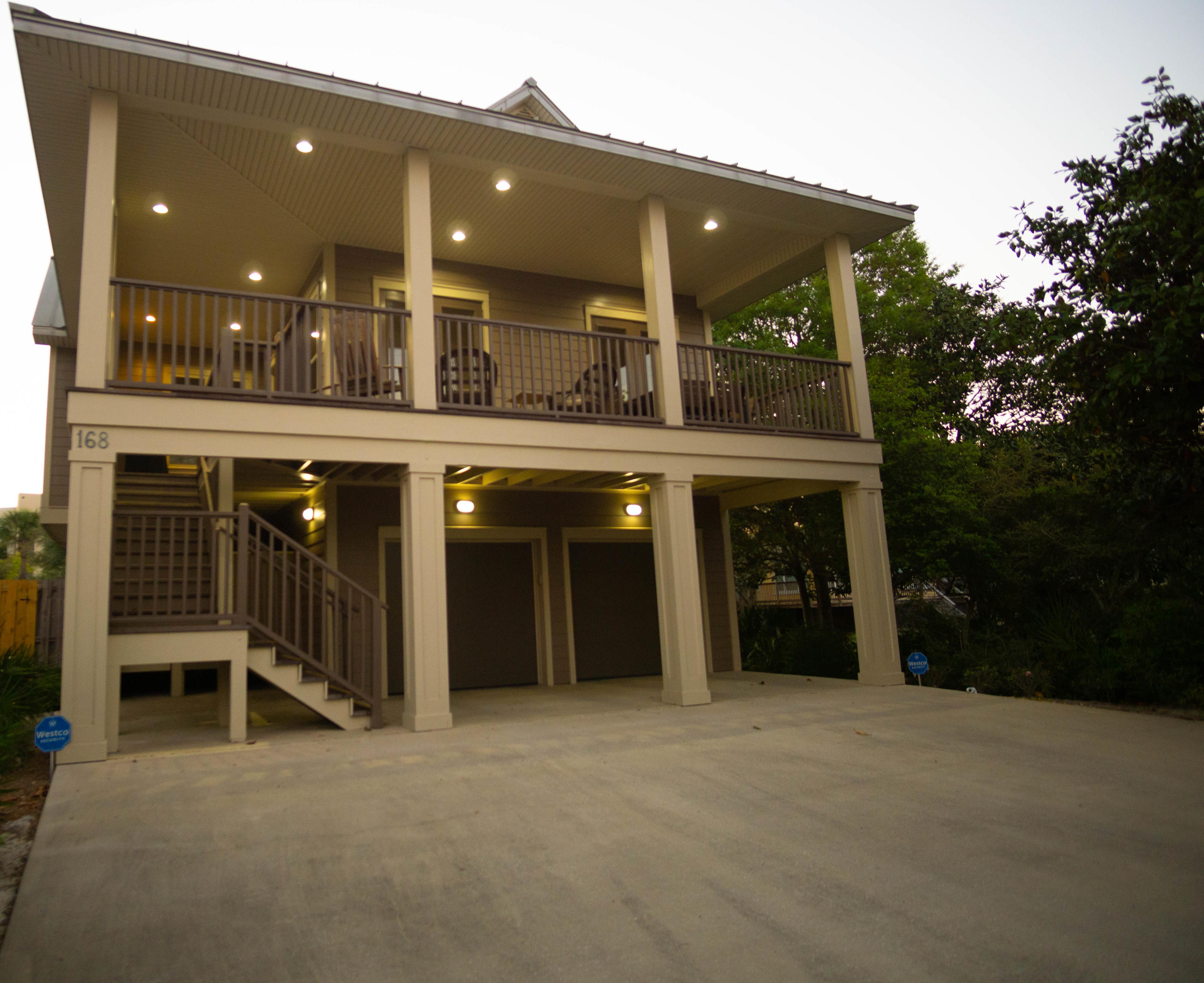 Live at the beach! Enjoy a true coastal lifestyle with this custom built home, nestled on Sandtrap R