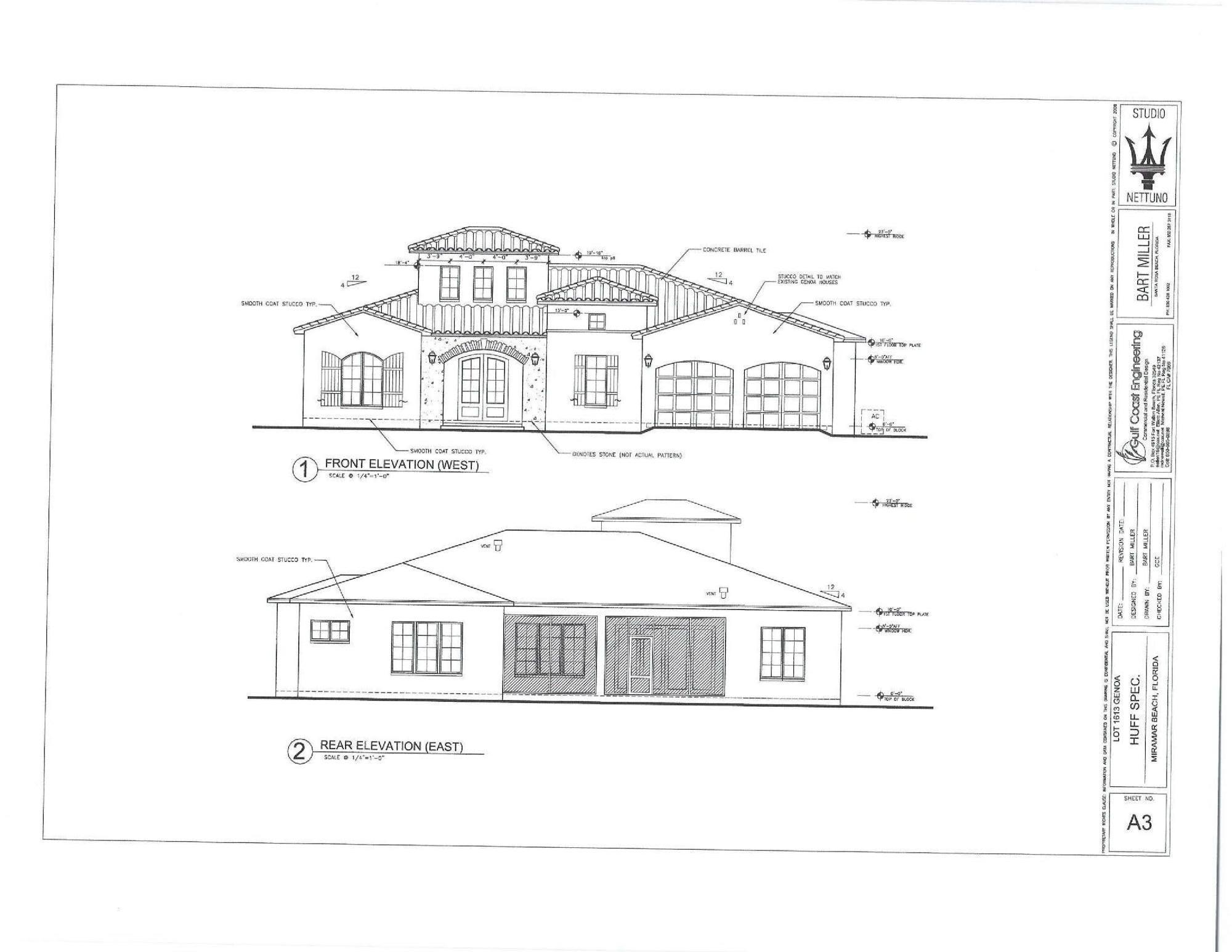 NEW HUFF HOMES OF FLORIDA 1 STORY HOME UNDER CONSTRUCTION ON THE RAVEN GOLF COURSE AT SANDESTIN GOLF