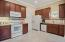 Kitchen with 48 inch upper cabinets