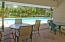 Community pool and covered breezeway between bathhouses