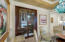 Pocket Door from Dining Room to Wine Room