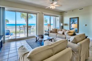 Main Living Area with Great views of the Gulf