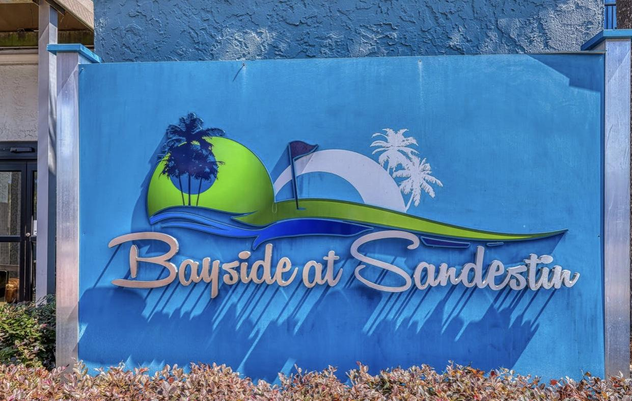 Fully Furnished unit.  Bayside Inn at Sandestin offers many amazing amenities. Lounge area over look