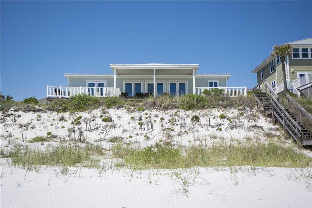 Fabulous 30A Gulf Front Home located on 75' of the Gulf of Mexico! If you are looking for an estate sized lot with a beautiful Beach front home, this home is for you!  With glorious sunrise & sunset views, this home provides the owner with complete privacy, yet is conveniently located within walking distance of Gulf Place.  Appointment required.