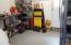 Extended area in Garage, large enough for large vehicle