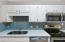 Attractive backsplash, electric oven (can be converted to gas)