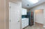 Spacious pantry, plenty of counter space and cabinets, newer refrigerator w/ice-maker