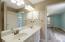 Dual Vanities, Step-In Tub/shower combination