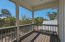 Screened porch off the master
