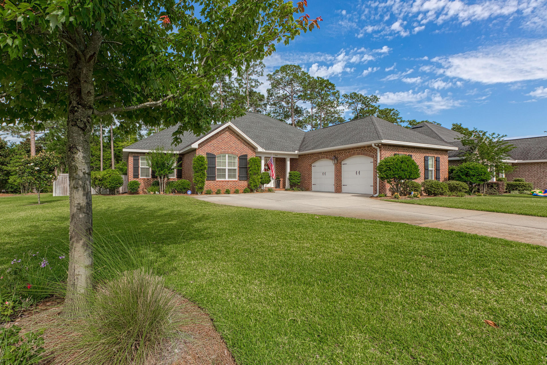 Gorgeous home in desirable Magnolia Woods. This pristine 4 bedroom, 3 bath beauty sits on a large co