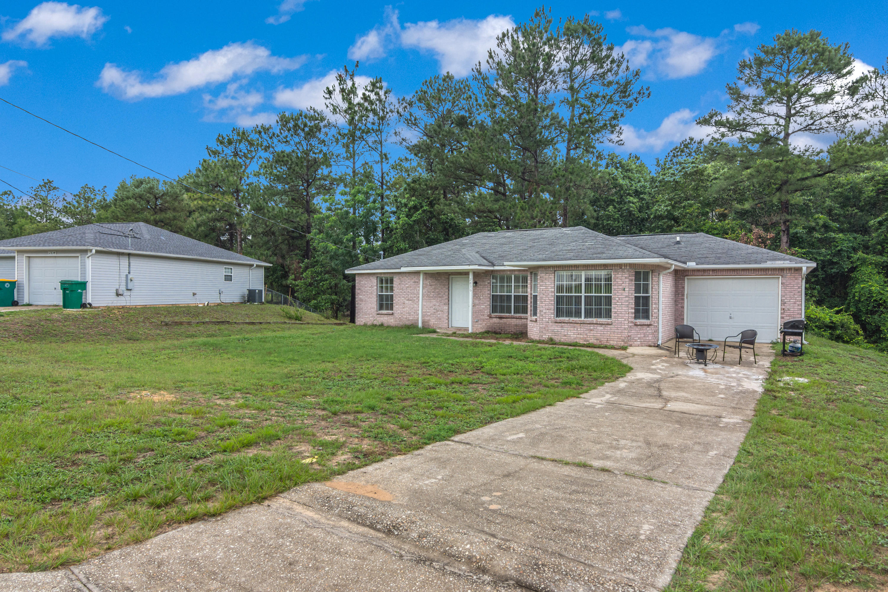 South of I-10!! Welcome home to 2856 Penney Lane! This home has 3 bedrooms, 2 bathrooms, 1 car garag