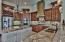 Gourmet kitchen with custom solid wood cabinetry
