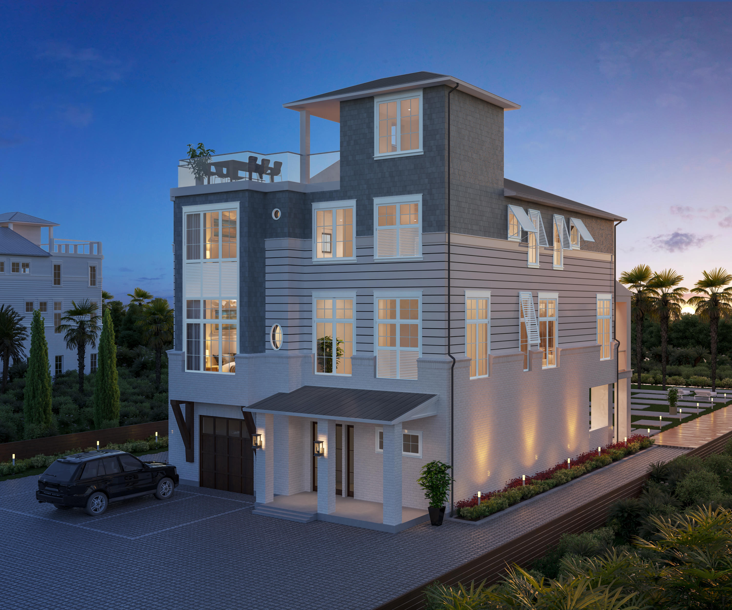 This modern coastal new build offers exemplary living located in one of the most sought after locati