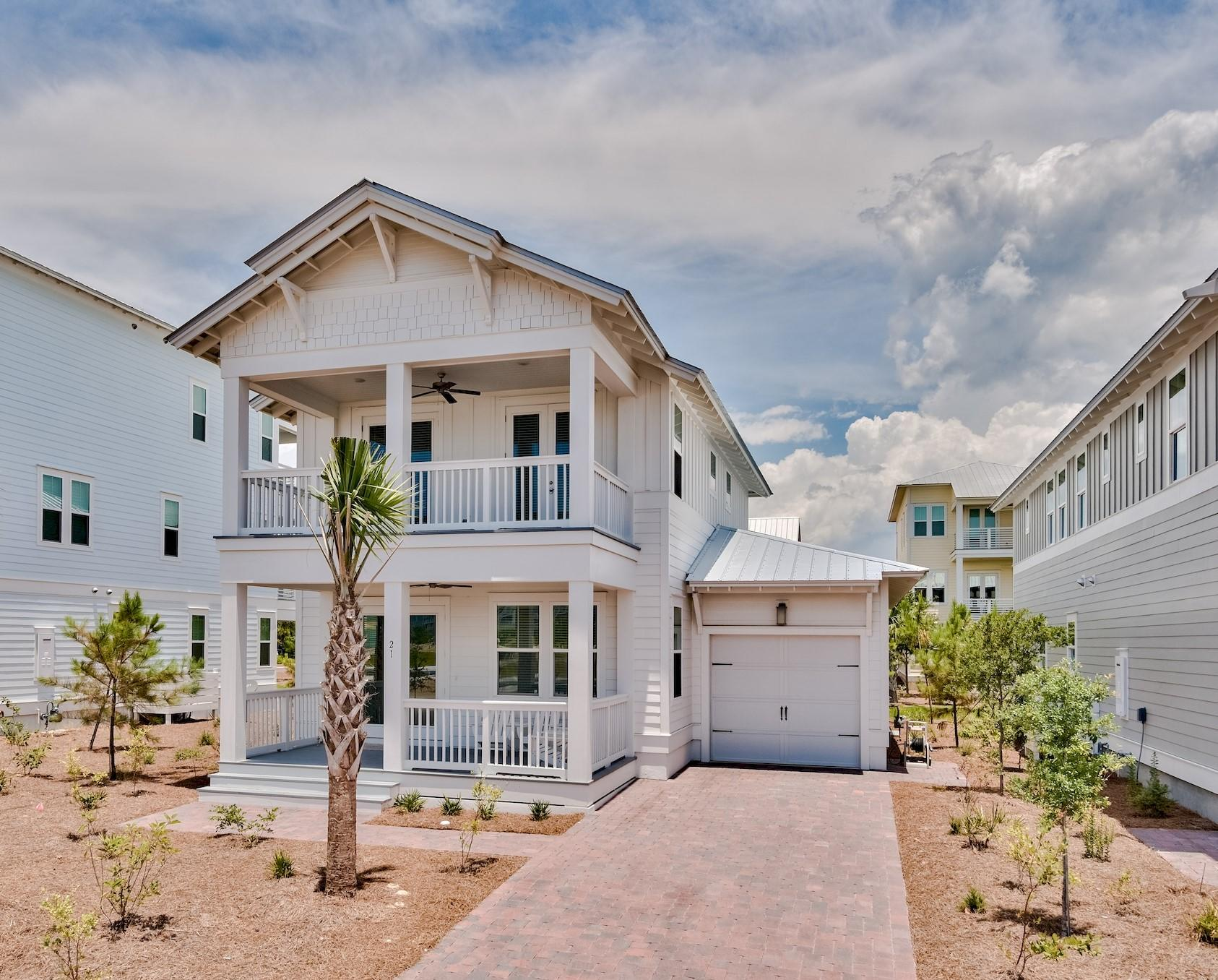 Your perfect, luxury beach retreat is move-in-ready immediately, South of 30A, in the sought after c