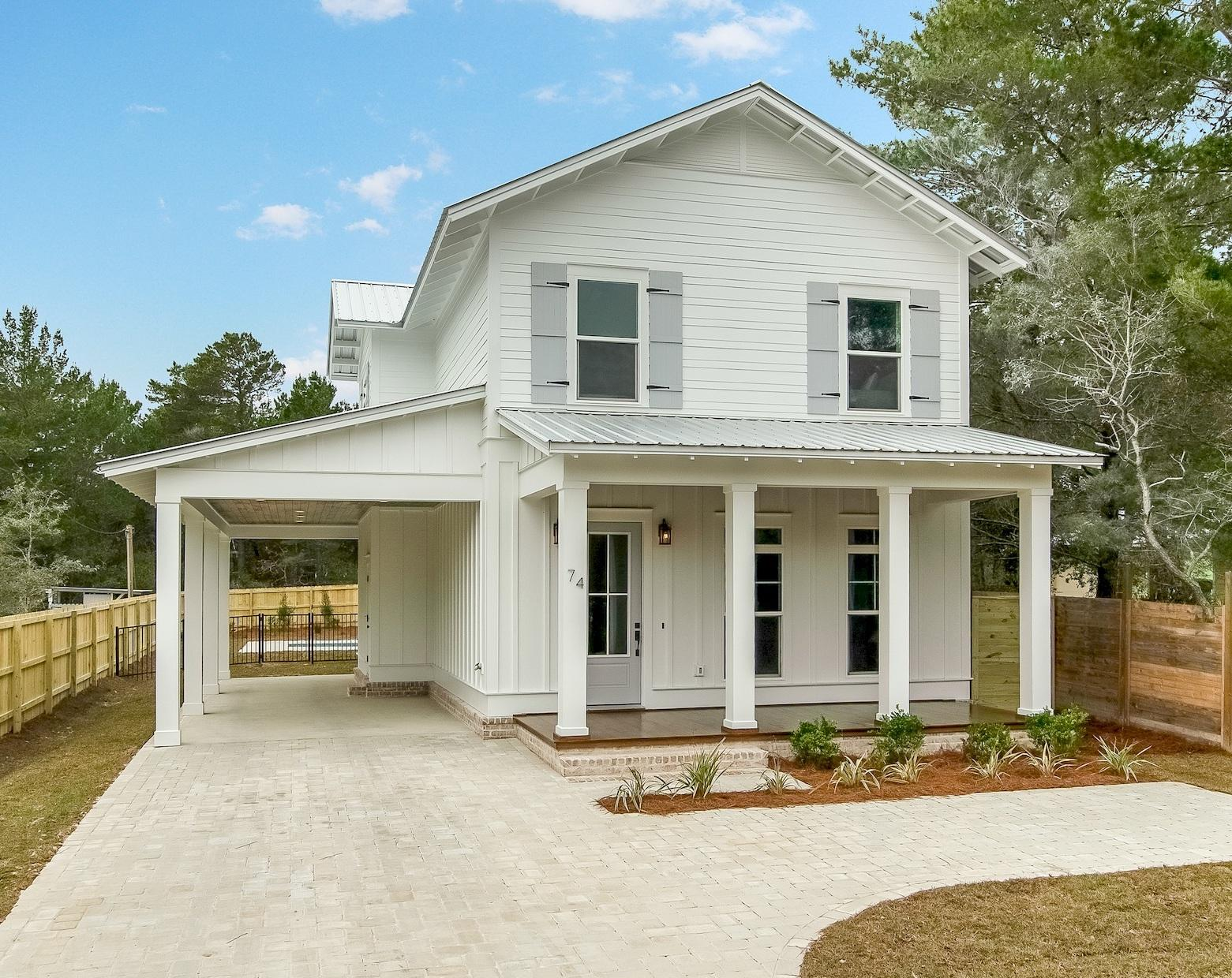 Custom built in 2019, this 5 bedroom 4 1/2 bathroom home with heated pool is in the heart of Seagrov