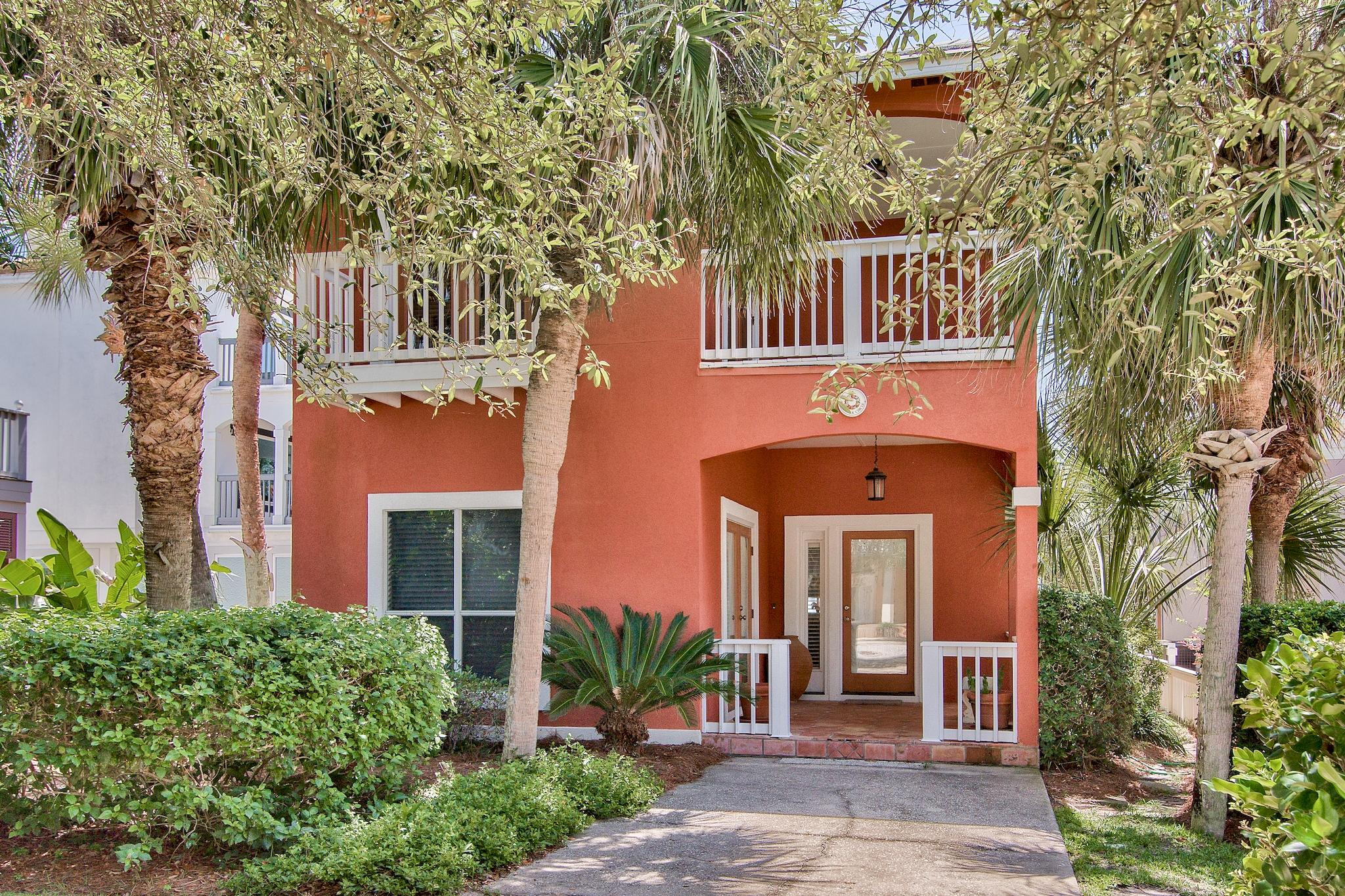 This stunning coastal beach cottage is prominently located south of 30A in the Heart of Seagrove Bea