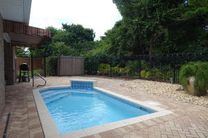 Private Pool with Paver Stone patio