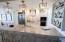 Kitchen and Breakfast Bar with Custom Lighting