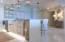 Kitchen Area with Floor Lighting