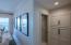 Custom Built Hall Cabinets leading to Master Bedroom