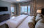 Master Bedroom with entry to Balcony