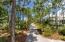 walking paths behind property