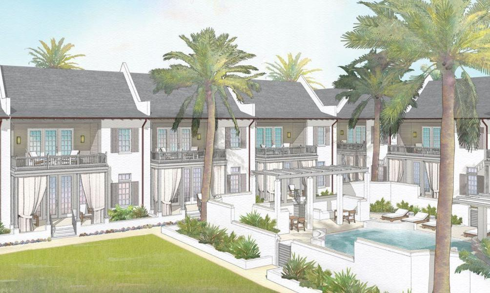 A community within a community in the exclusive Kaiya Beach Resort, The Mews villas offer residents