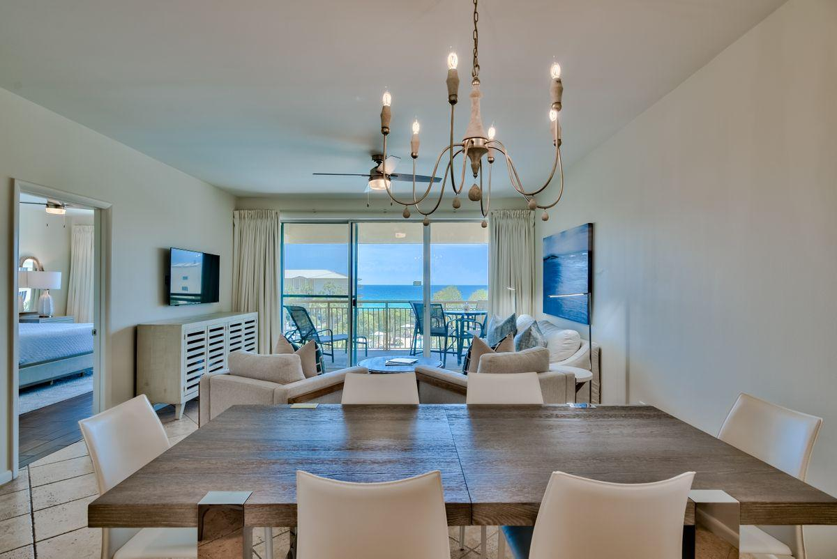 With captivating gulf views, this recently updated condo in High Pointe is located between Rosemary