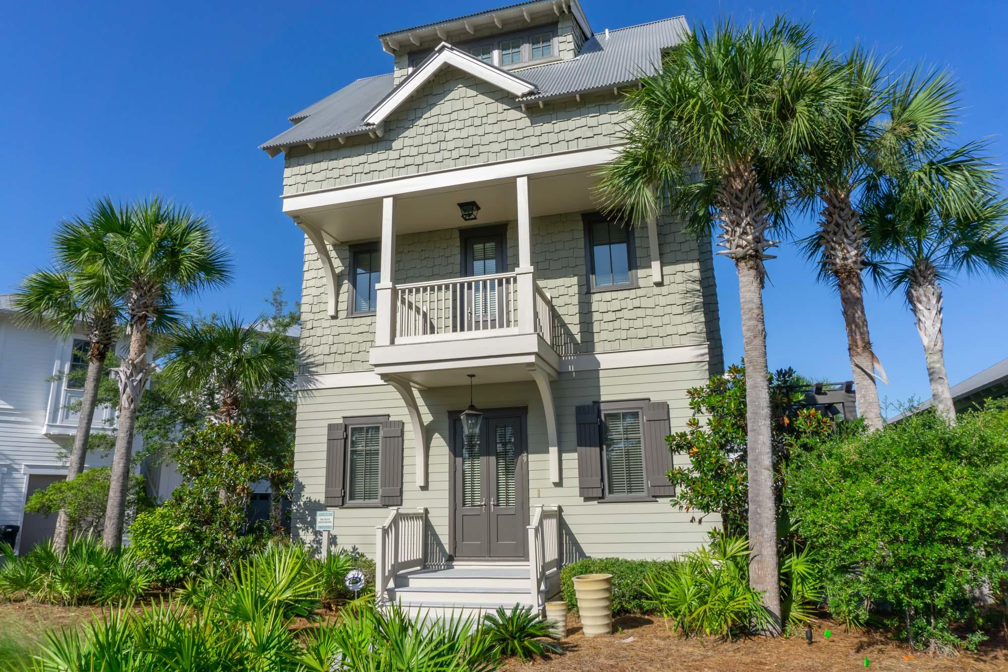 Beautiful and fully furnished 3 story beach home on a corner lot in the tranquil neighborhood of Cyp