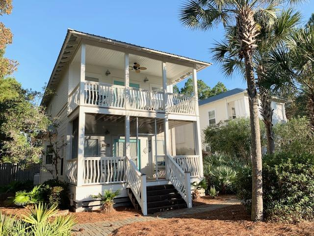 Seagrove Beach home SOUTH OF 30A with proven rental income. This beautiful, renovated three bedroom/